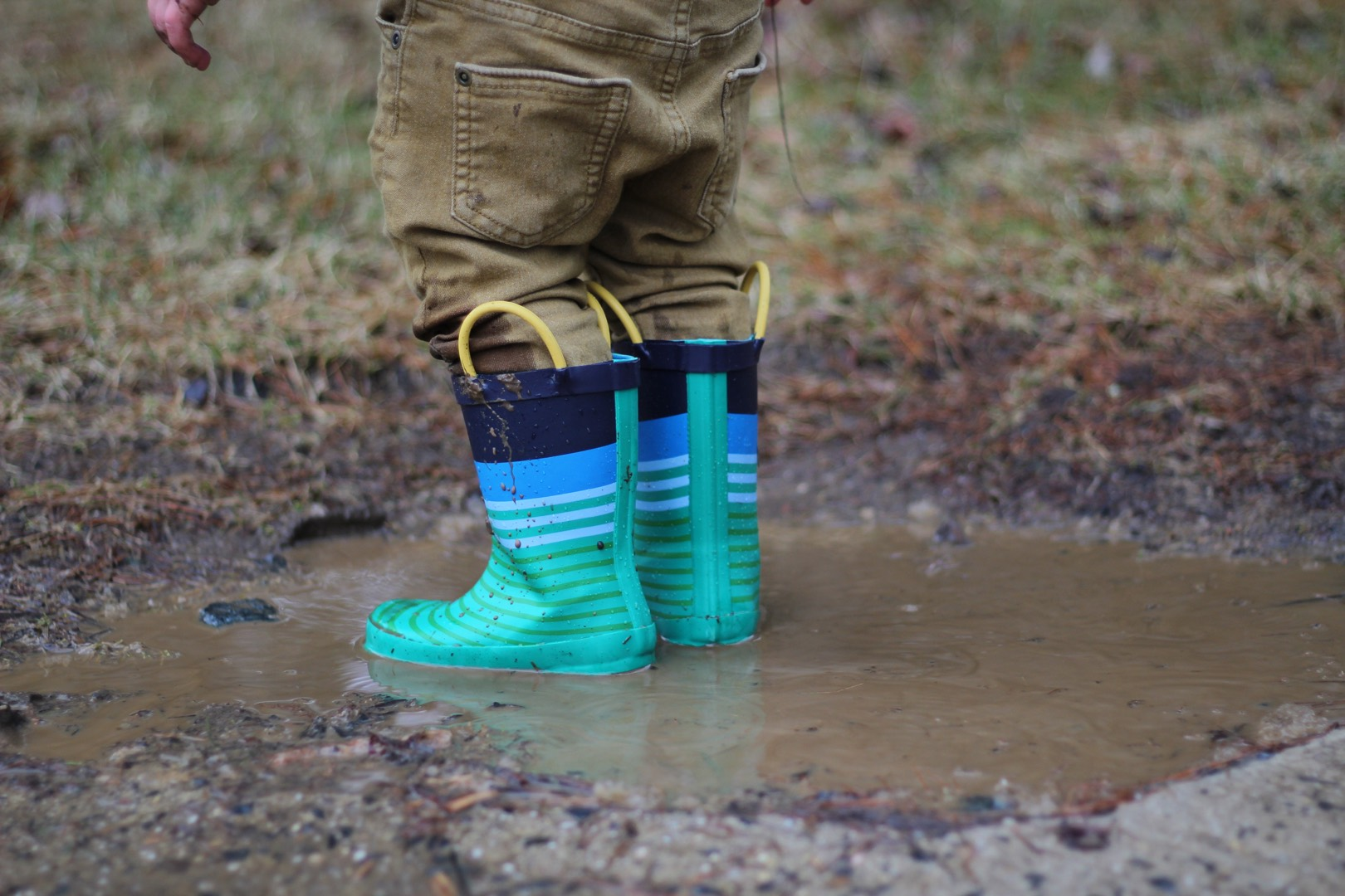 Muddy Boots and too Little Gusto