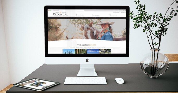 HelloSmitten's Web Design Project Case Study - Prineville