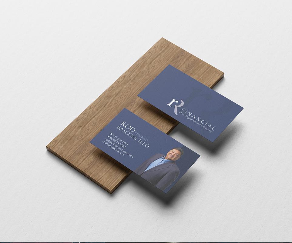 Roughed Portfolio Cards